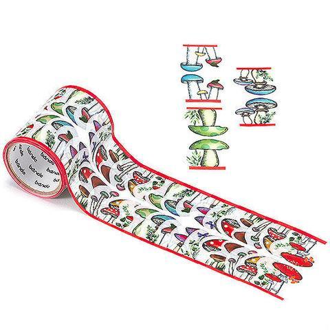 mushroom washi tape by bande on roll