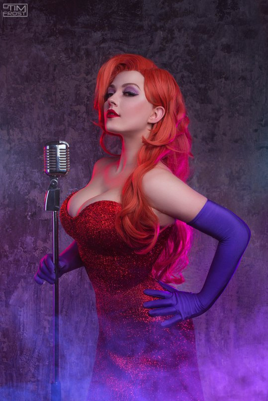 jessica rabbit halloween cosplay costume pop shop america