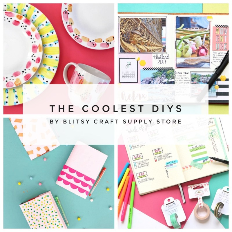 the coolest diys by blitsy craft supply store