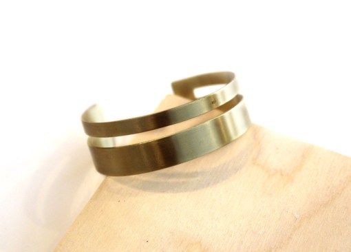 xena small brass bracelet - handmade jewelry_web