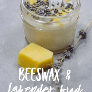beeswax and lavender bud candle diy pop shop america