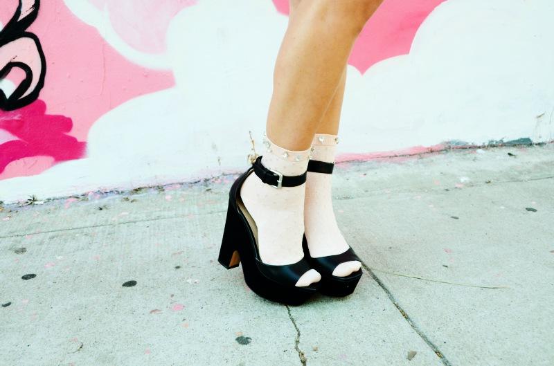 jeweled socks diy by mr kate pop shop america