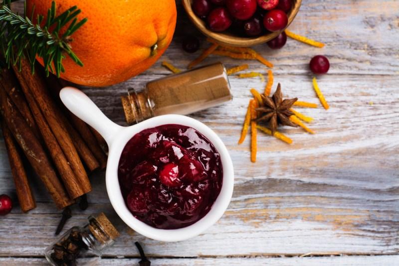 tangerine cranberry sauce recipe by pop shop america
