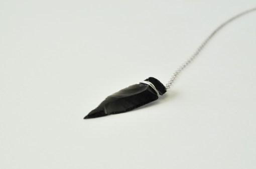 obsidian-arrowhead-sterling-necklace-pop-shop-america