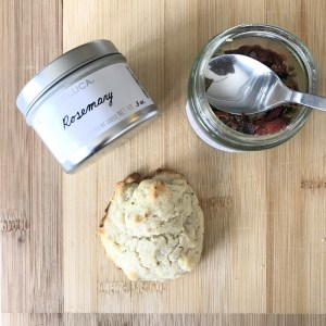 Savory Herb Drop Biscuits
