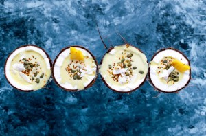 Coconut Shell Tropical Smoothie Bowl Recipe