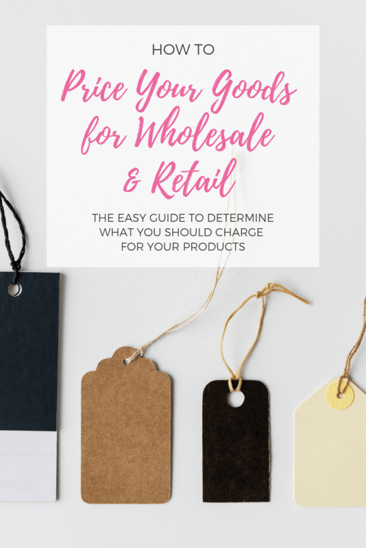 how to price your goods for wholesale and retail pop shop america