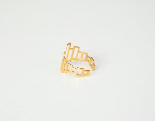 stylish brass rings pop shop america modern boxes brass ring