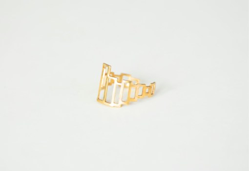 unique brass jewelry open box ring pop shop america