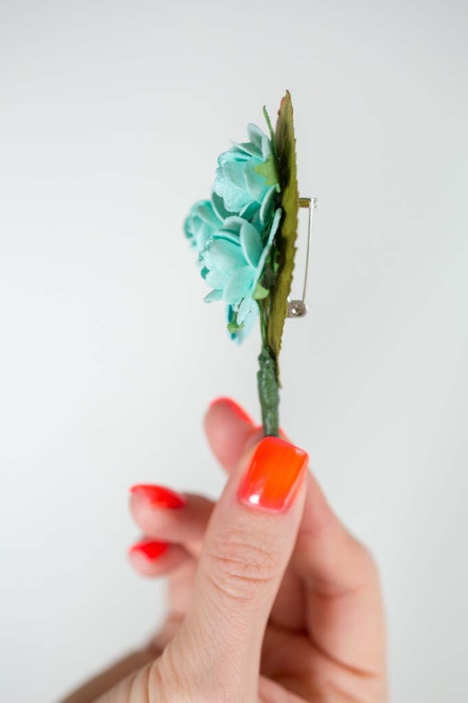 side-view-finished-diy-boutonniere-menswear-wedding