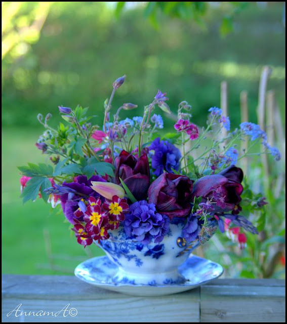 fresh blooms in a tea cup garden ideas pop shop america