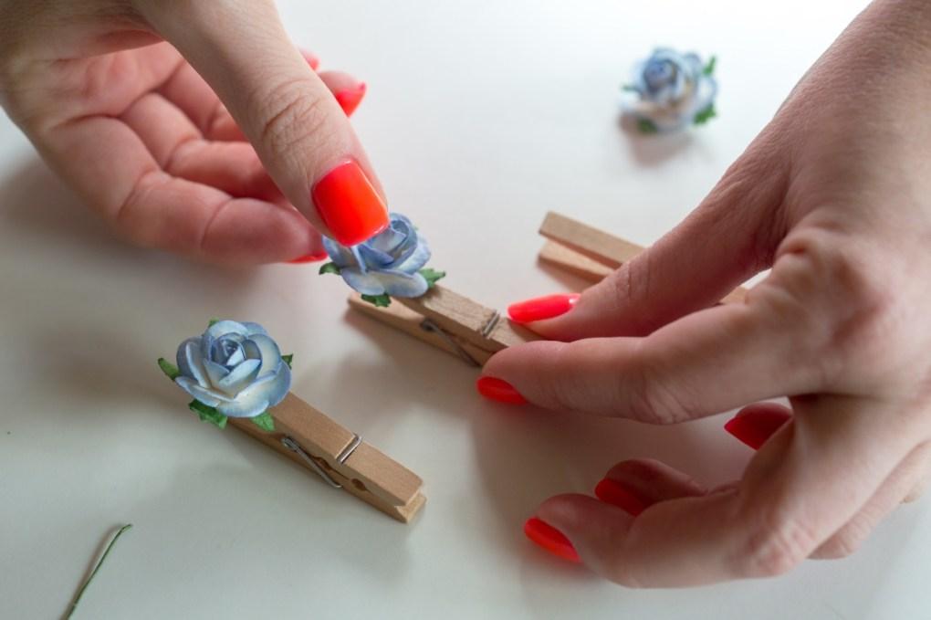 add the flowers diy flower clothespins pop shop america