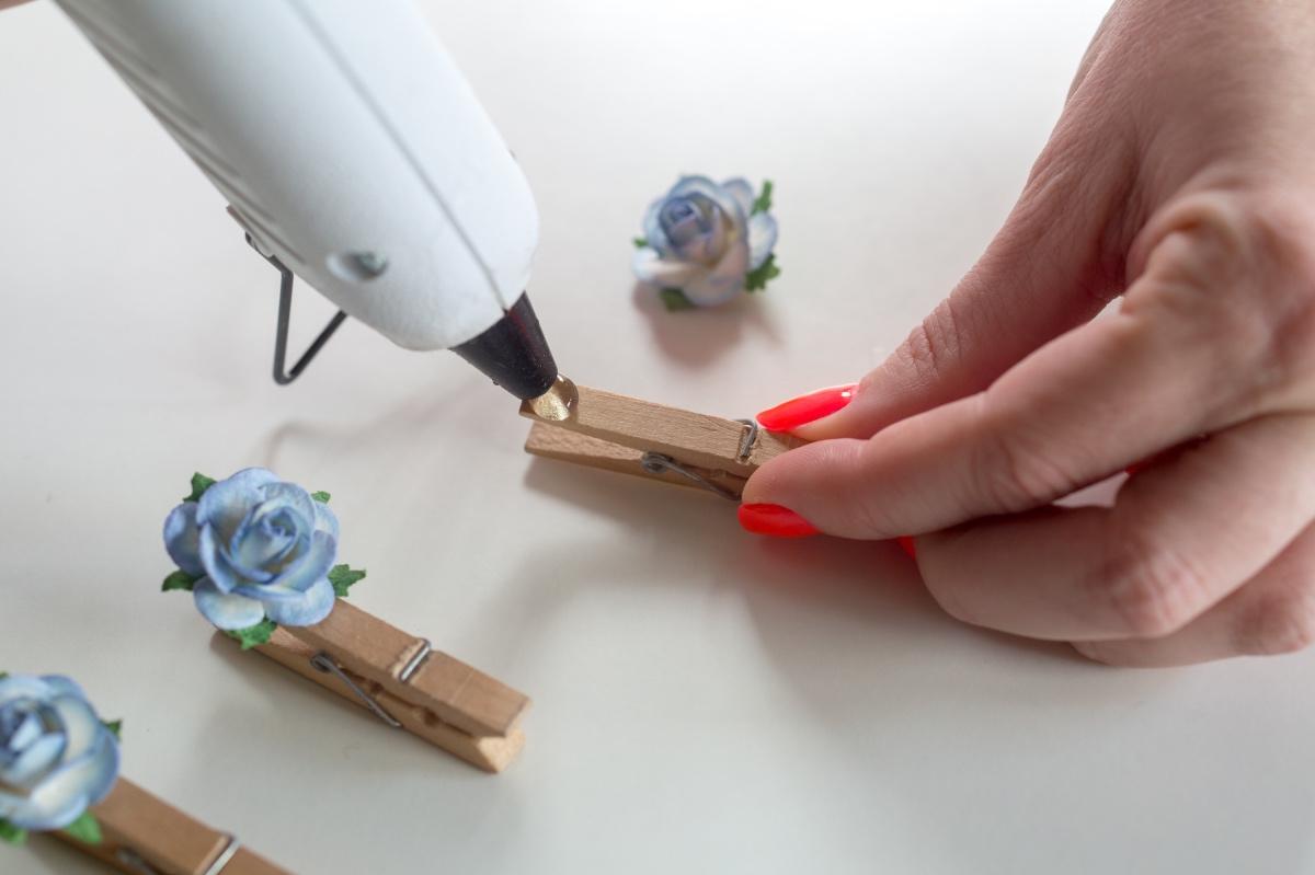 Easy Diy Flower Clothespins