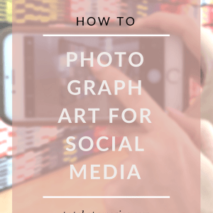 how to photograph art for social media featured pop shop america