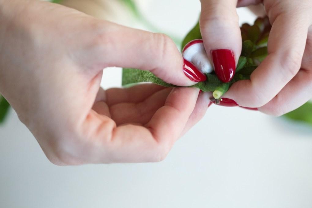 wrap the floral tape pop shop america diy boutonniere