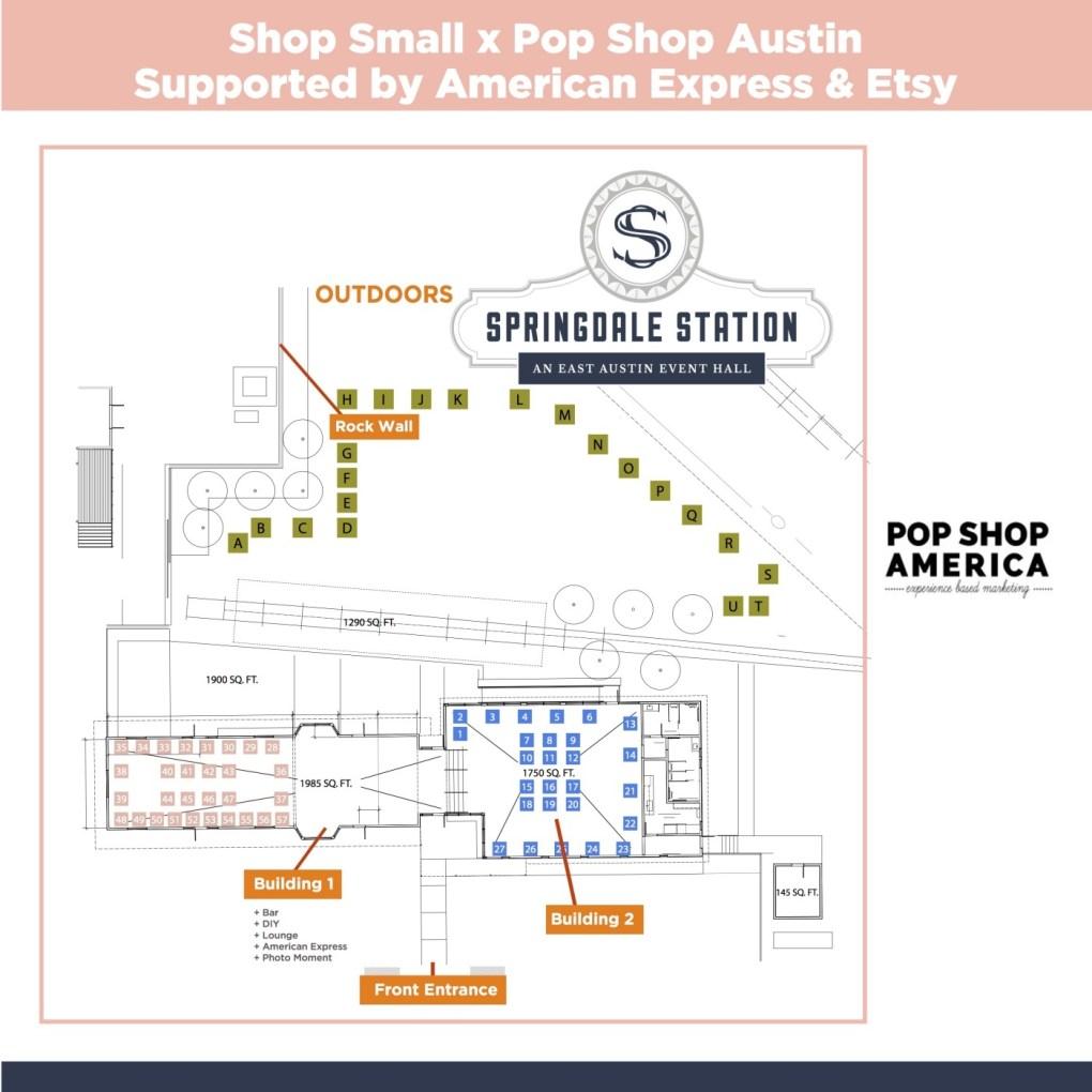 Springdale Station Pop Shop Austin Event Map_small
