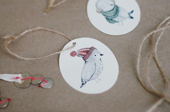 kelli murray printable holiday gift tags