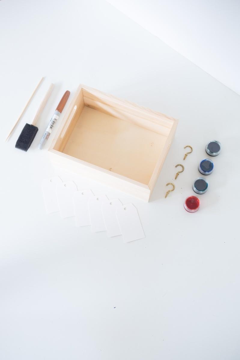 supplies to make diy wooden box calendar pop shop america
