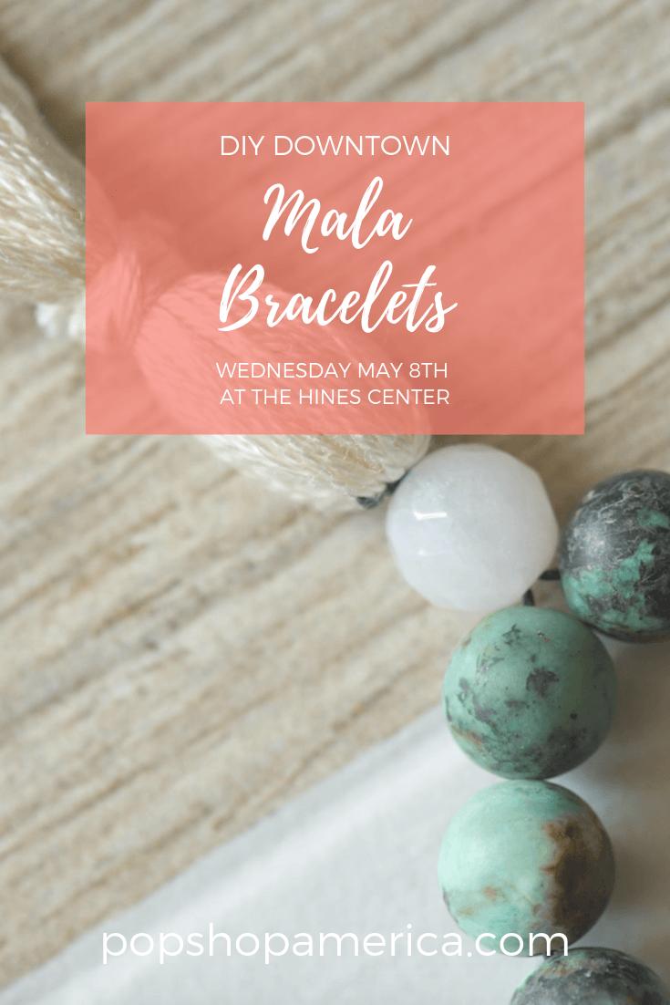 make your own mala bracelet workshop houston