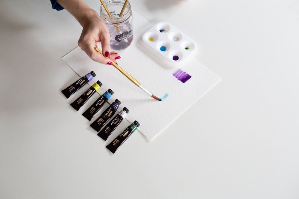 drop color inside of watercolor beginners guide to painting
