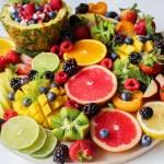 Gorgeous Simple Rainbow Breakfast Fruit Tray