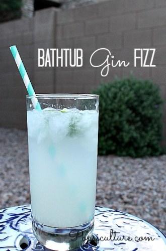 Drink: Bathtub Gin Fizz
