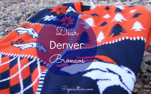 Broncos Ugly Sweater