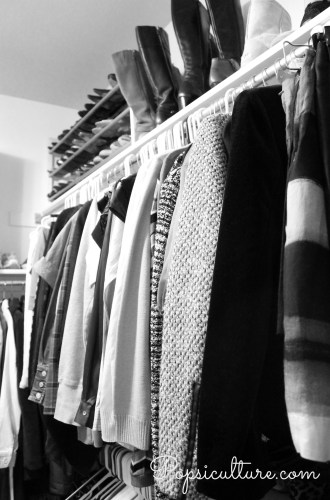 Organizing Your Master Closet