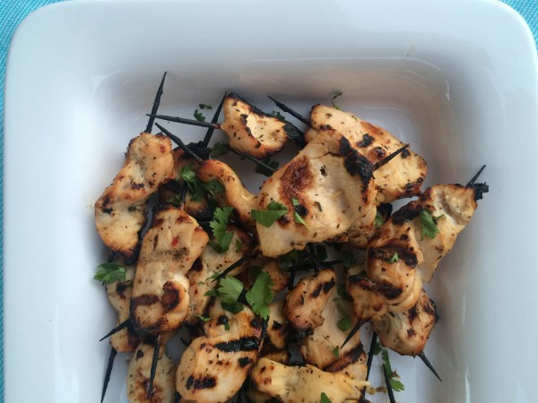 Tapas Party-Grilled Citrus and Garlic Chicken