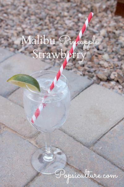 Malibu Pineapple Strawberry