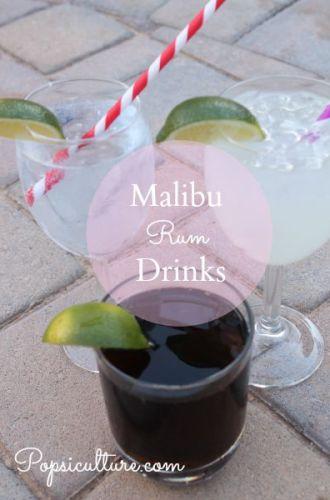 Drink: Malibu Rum Drinks
