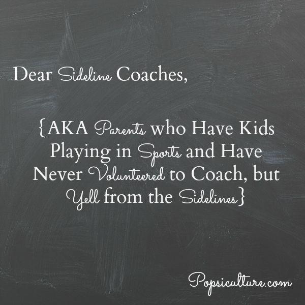 Sideline Coaches