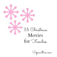 15 Christmas Movies for Families