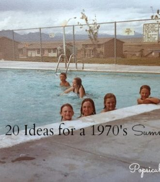 20 Ideas for a 1970's Summer