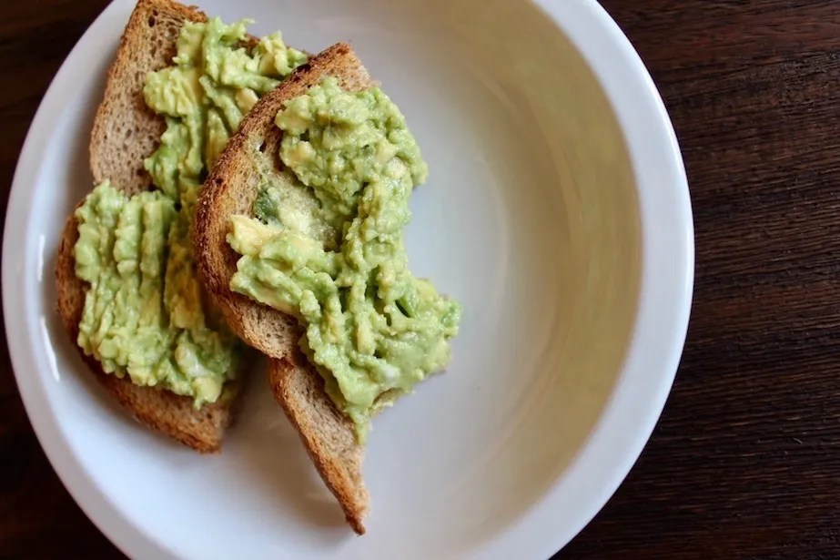 Avocado Smash Avocado Toast