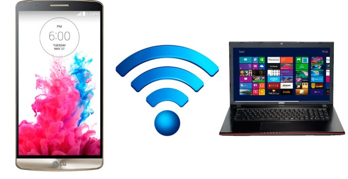 How to Connect Android Phone to PC via Wifi Hotspot