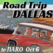 Road Trip!  Dallas NARO Oct 2016