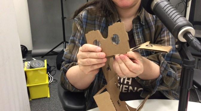 The Folding O' the Google Cardboard