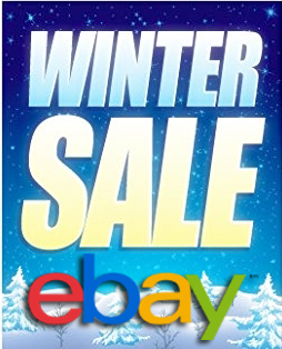 eBay Winter Sale 20% OFF Coupon Code 2