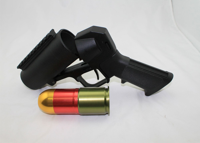 S-Thunder Short Barrel Full Metal Grenade Launcher