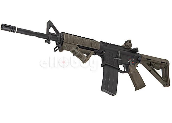 EAC (G&P) M4 MOE Carbine w/ ERGO Z-Rail GBB