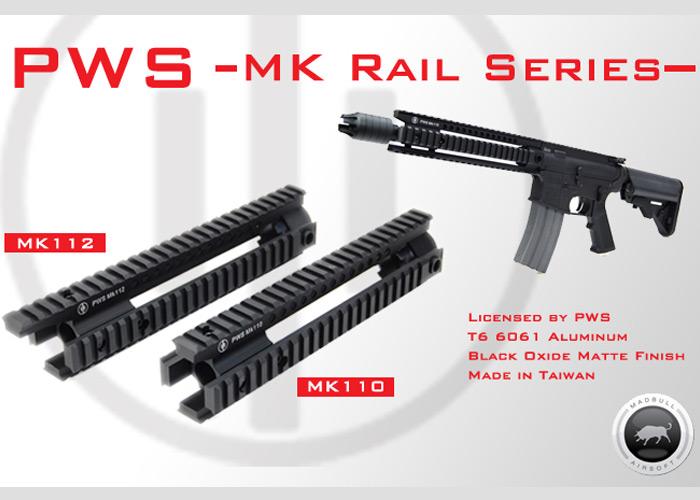 MadBull PWS MK110 & 112 Rails