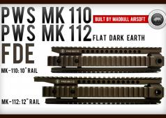 MadBull PWS Mk-110 / Mk-112 Rails FDE