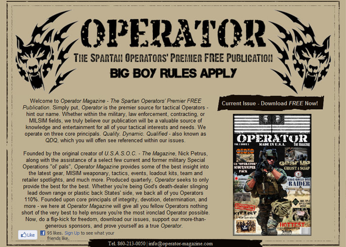 Operator Magazine