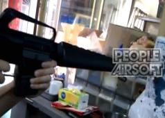 PeopleAirsoft.com - M16A1 Gas Blow Back Rifle Sneak Preview