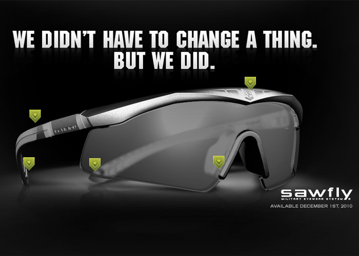 Revision New Sawfly Military Eyewear