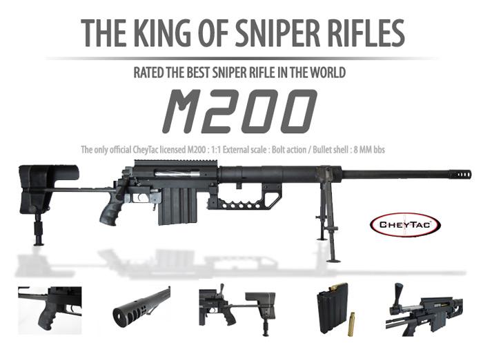 SOCOM Gear Cheytac M200 8mm Shell Ejecting Rifle