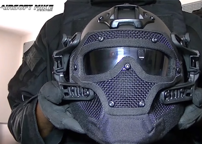 Airsoft Mike AWT G4 Helmet Review Popular Airsoft