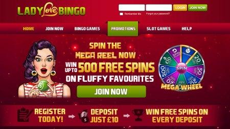 Get Benefited with Online Lady Love Bingo Rewards