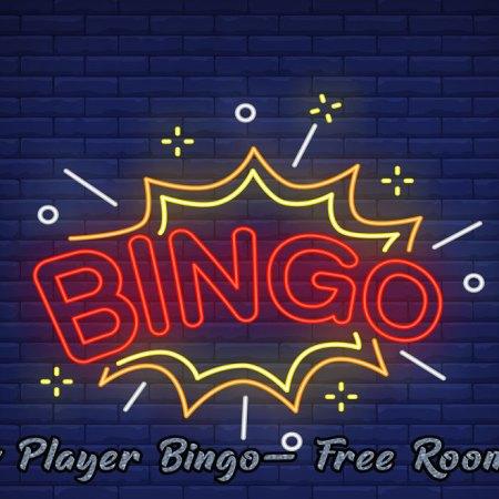 New Player Bingo- Free Rooms